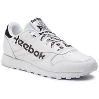 Reebok Buty - cl lthr dv3830 white/black