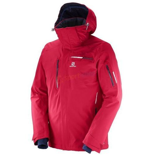 Kurtka narciarska męska brilliant (czerwona) marki Salomon