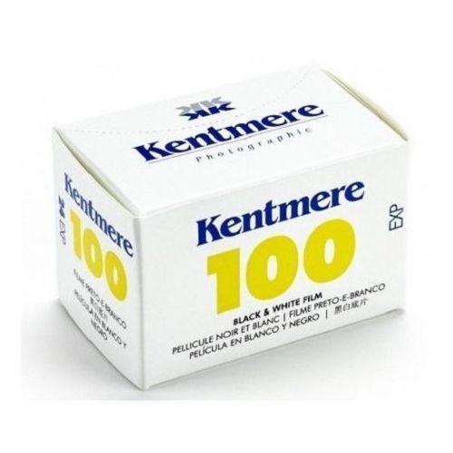 Kentmere 100/36 ISO 100 małoobrazkowy negatyw czarno-biały typ 135