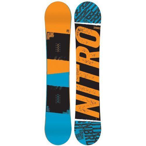 Potestowa deska snowboard stance 149cm marki Nitro