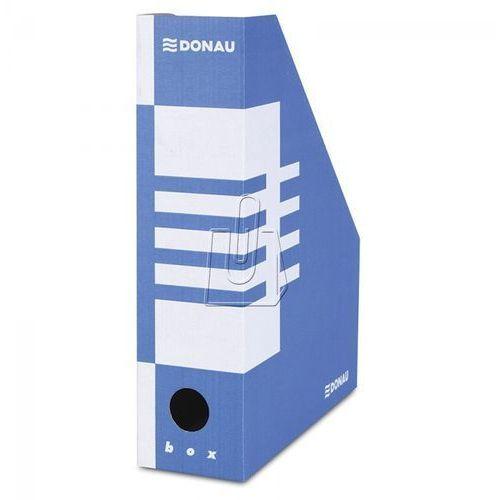 Pojemnik na dokumenty (czasopisma) Donau A4 niebiesko-biały (7649001PL-10), kup u jednego z partnerów
