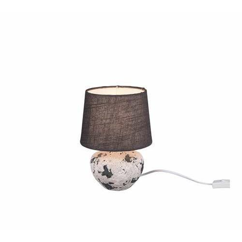 Trio rl bay r50951811 lampa stołowa lampka 1x40w e14 szara/szara (4017807469745)