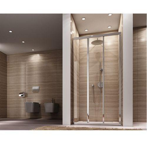 Drzwi prysznicowe rozsuwane 120 cm Rea Alex UZYSKAJ 5 % RABATU NA DRZWI, REA-K0921