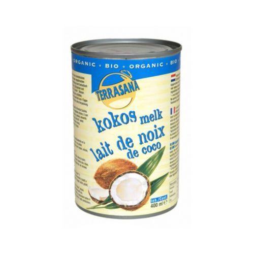 Terrasana 400ml mleczko kokosowe 22% tłuszczu bio