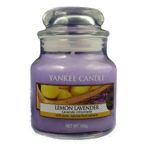 Yankee Candle Słoik Mały Lemon Lavender 104g, 5038580018141