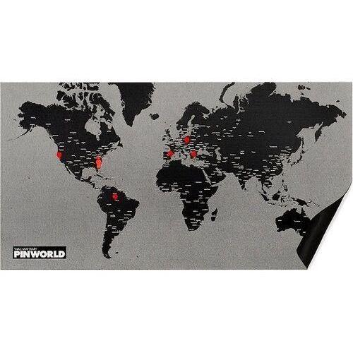Palomar Dekoracja ścienna pin world czarna (8033020510824)
