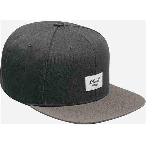 czapka z daszkiem REELL - Pitchout 6-Panel Cap Dark Grey/Light Grey (DARK GREY LIGHT GREY), kolor szary
