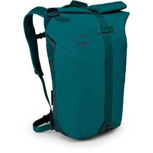 Osprey transporter roll plecak, westwind teal 2020 plecaki turystyczne (0845136089259)