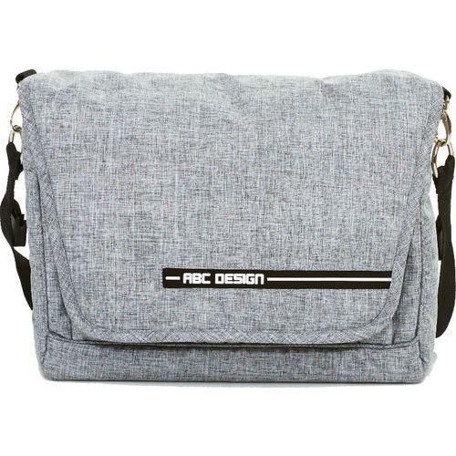 Abc design  torba na akcesoria do przewijania fashion graphite grey (4045875042157)