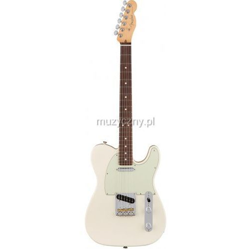 Fender American Pro Telecaster RW Olympic White gitara elektryczna, podstrunnica palisandrowa