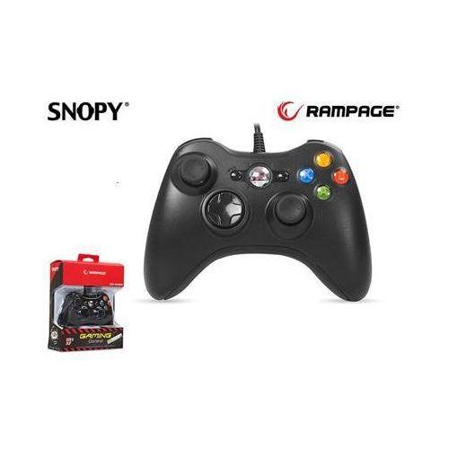Rampage Gamepad kontroler  sg-r360 usb do xbox360 przewodowy 2,2m black (8680096039287)