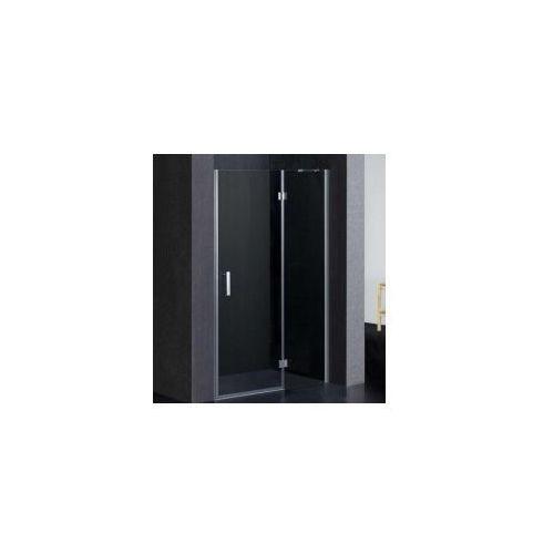 OMNIRES MANHATTAN Drzwi 120cm, chrom, transparentne + powłoka 3M ADP12X LUX-T