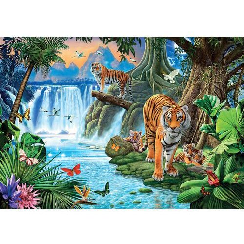 Puzzle Tiger's family 1500, 489173
