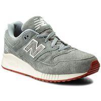 Sneakersy NEW BALANCE - M530VCA Szary, kolor szary
