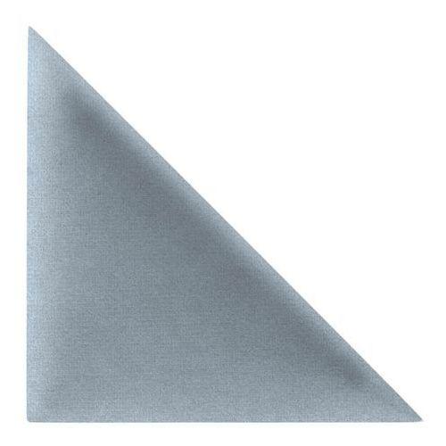 Panel ścienny tapicerowany mollis trójkąty 30 x 30 cm jasnoniebieski 2 szt. marki Stegu