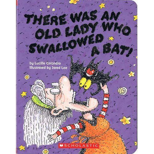 There was an Lady who swallowed a bat (twarda oprawa)