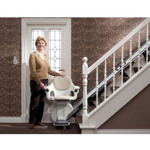 Krzesełko przyschodowe homeglide na proste schody marki Thyssenkrupp elevator