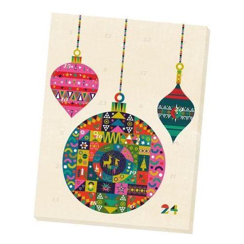 """OKAZJA - Kalendarz adwentowy z herbatą 2019 """"glossy christmas balls"""" - 24 rodzaje wysokiej jakości herbat smakowych marki Cup&you cup and you"""