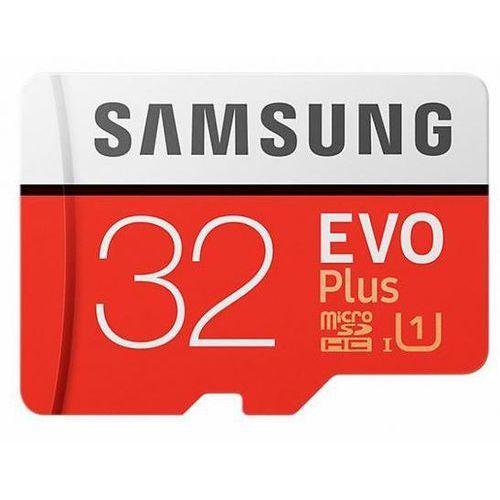 Karta pamięci SAMSUNG EVO+ microSD 32GB 95MB/s + SD >> PROMOCJE - NEORATY - SZYBKA WYSYŁKA - DARMOWY TRANSPORT OD 99 ZŁ!