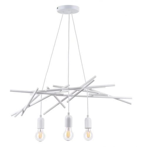 SPOT-LIGHT GLENN Lampa wisząca Biały 3XE27 -60W 9222302 (5901602354094)