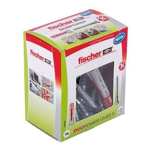 Fischer Kołek uniwersalny duopower 12 x 60 z wkrętem 10 szt. (4048962262254)