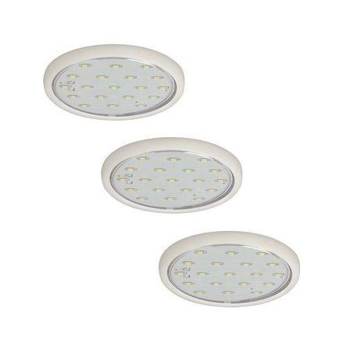 99492 - set 3x led oprawa wpuszczana micro line 3xled/0,7w/230v/12v marki Paulmann