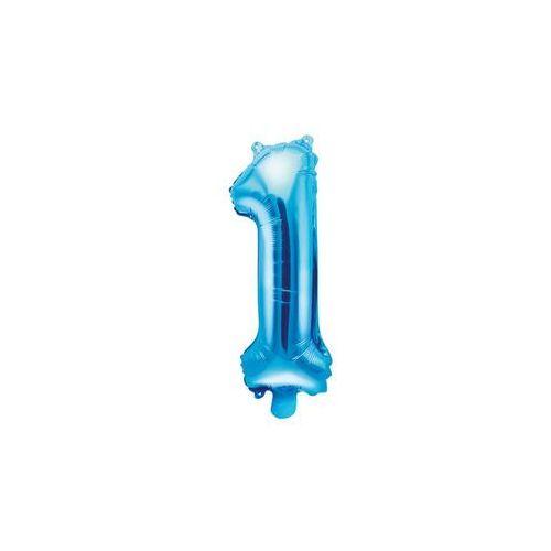 Party deco Balon foliowy cyfra 1 jedynka - 35 cm - 1 szt.