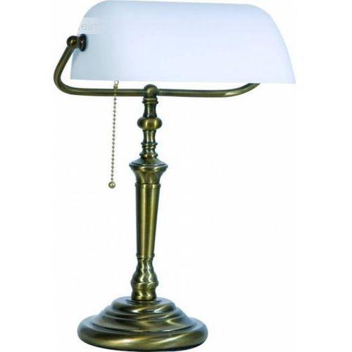 Steinhauer DE RIO lampa bankierska Brązowy, 1-punktowy - Klasyczny - Obszar wewnętrzny - RIO - Czas dostawy: od 4-8 dni roboczych (8712746056808)