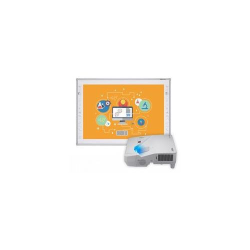 Tablica interaktywna TruBoard R3-800+ projektor ultra short NEC UM301X z uchwytem