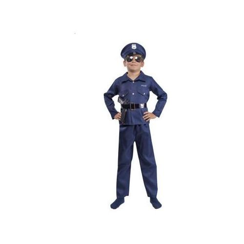 Policjant mundur - przebrania / kostiumy dla dzieci, odgrywanie ról - 110-116, marki Aster