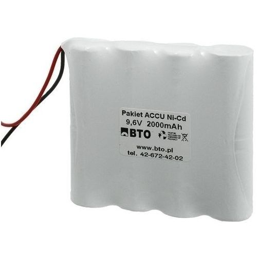 Akumulator NiCD SC 9.6V 2.0Ah 8S1P, 00749