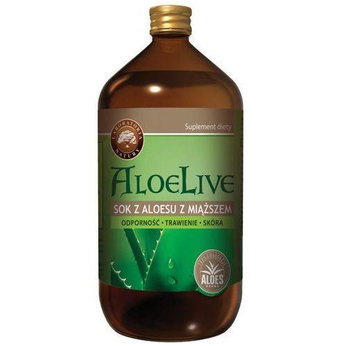 Aloelive sok z miąższem 1000ml marki Laboratoria natury