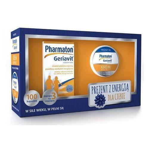 Pharmaton GERIAVIT x 100 kapsułek + krem odżywczy z wyciągiem z Żeń-Szenia 50ml