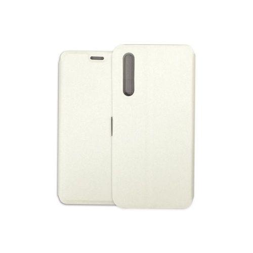 Huawei P20 Pro - etui na telefon Wallet Book - biały, kolor biały