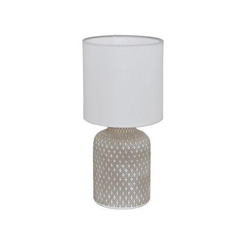 Eglo Lampka bellariva 97774 stołowa nocna 1x40w e14 szara/biała (9002759977740)