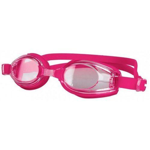 Spokey Okulary pływackie barracuda różowy (5901180392143)