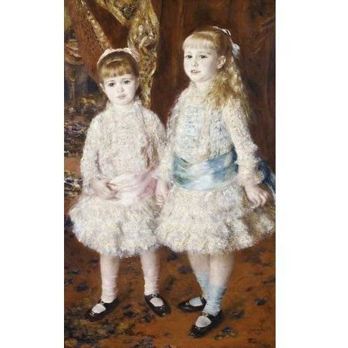 Reprodukcja Pink and Blue or The Cahen d'Anvers Girls 1881 Auguste Renoir