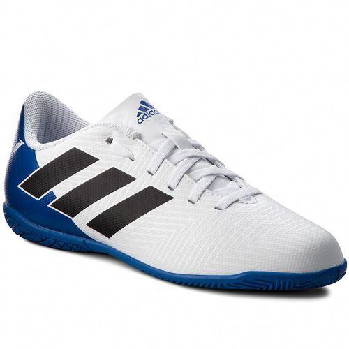 Buty adidas - Nemeziz Messi Tango 18.4 I DB2398 Ftwwht/Cblack/Fooblu, kolor biały