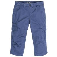 Bonprix Spodnie bojówki 3/4 loose fit indygo