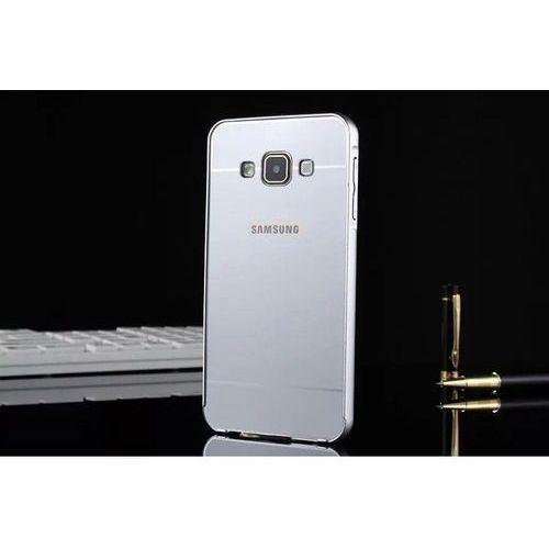 metal srebrny | obudowa z bumperem dla modelu samsung galaxy a3 marki Mat bumper