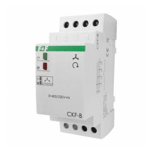 F&f Przekaźnik zaniku faz i asymetrii ckf-b 230v max. 10a czujnik 3058 (5908312593058)