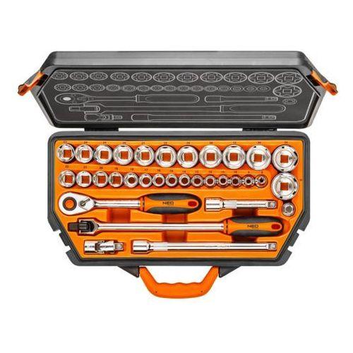 Neo tools Klucze nasadowe neo 1/2 cala 08-618 (33 elementów) + darmowy transport! (5907558402728)