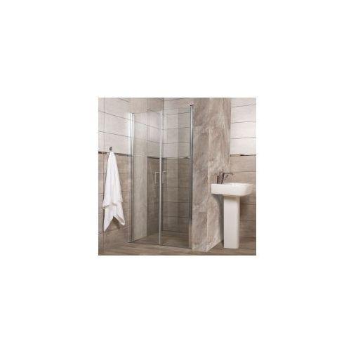 premium k10 drzwi wnękowe 100x190, szkło transparentne + easy clean marki Kerra