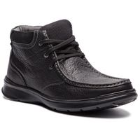 Trzewiki - cotrell top 261367037 black oily leather, Clarks, 40-47