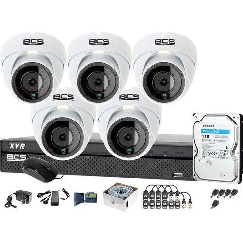 Bcs 5x -dmq2203ir3-b bcs-xvr0801-iii monitoring firmy sklepu przedszkola szkoły