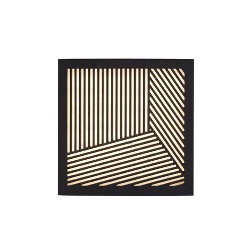 Design For The People by Nordlux MAZE Lampa ścienna LED Czarny, 1-punktowy - Nowoczesny/Design - Obszar zewnętrzny - MAZE - Czas dostawy: od 2-3 tygodni (5701581399884)