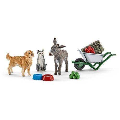 zestaw do karmienia zwierząt marki Schleich