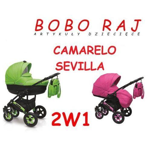 Wózek głęboko-spacerowy firmy  model sevilla 2w1 błyskawiczna wsyłka, zadzwoń i zamów 58 322 03 25 marki Camarelo