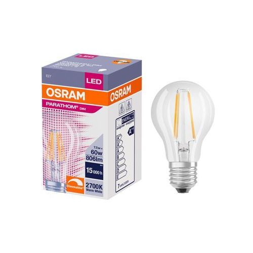 Żarówka LED E27 (230 V) 7 W 806 lm Ciepła biel OSRAM (4058075287389)