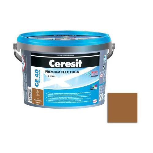 Ceresit Fuga cementowa wodoodporna ce40 brązowy 2 kg (5900089221653)